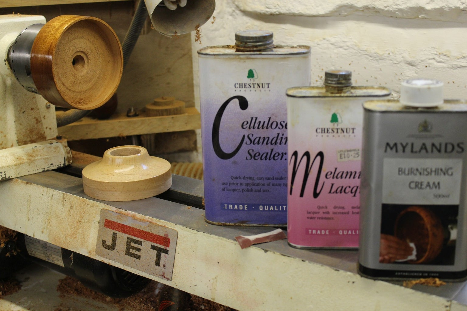 Finnish Glue and Carve Off That Ugly Spiggot