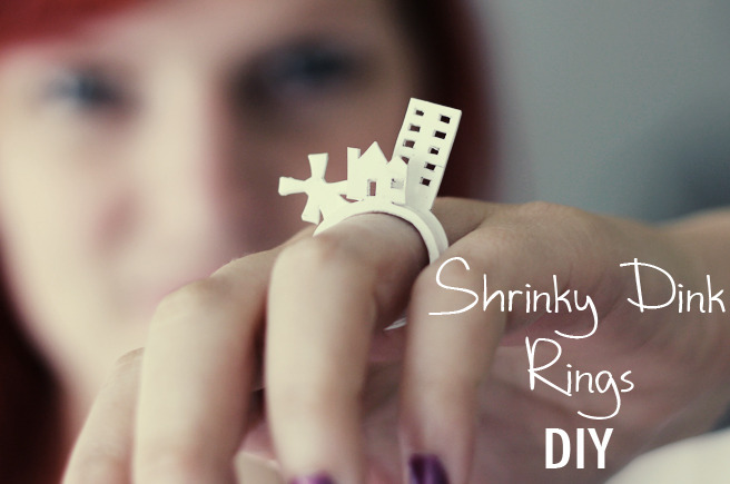 Cheap Way To Make A 3D Ring: Use Shrink Plastic!