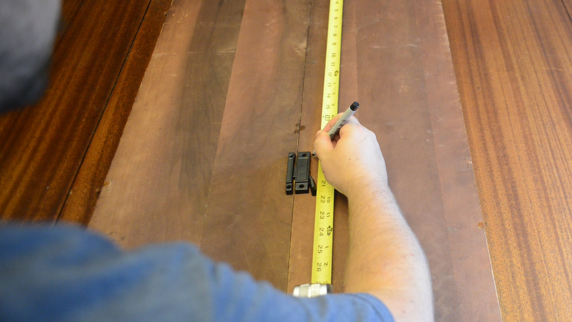Mark, Drill, and Measure Some Holes.