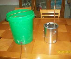 Making a Relatively Cheap Still (for Distilling Water(for EDUCATIONAL PURPOSES ONLY!))