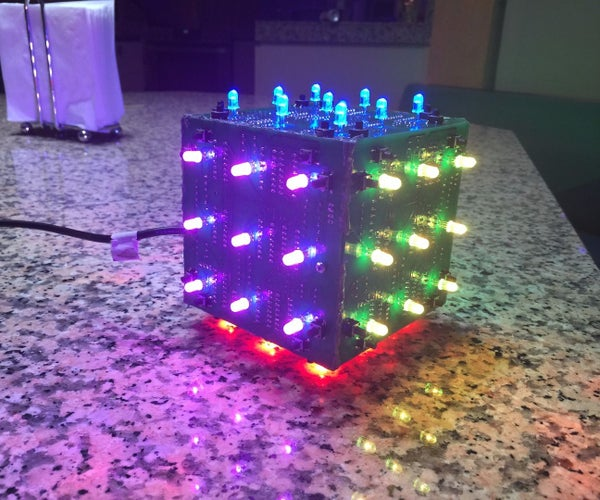 LED Rubik's Cube With Arduino