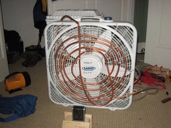 Home Made Air Conditioner I