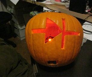 Proximity Sensing Pumpkin Carving