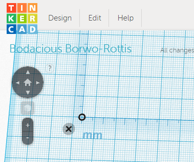 Using the Ruler Tool in Tinkercad