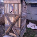 How To Build An Outhouse From Pallets