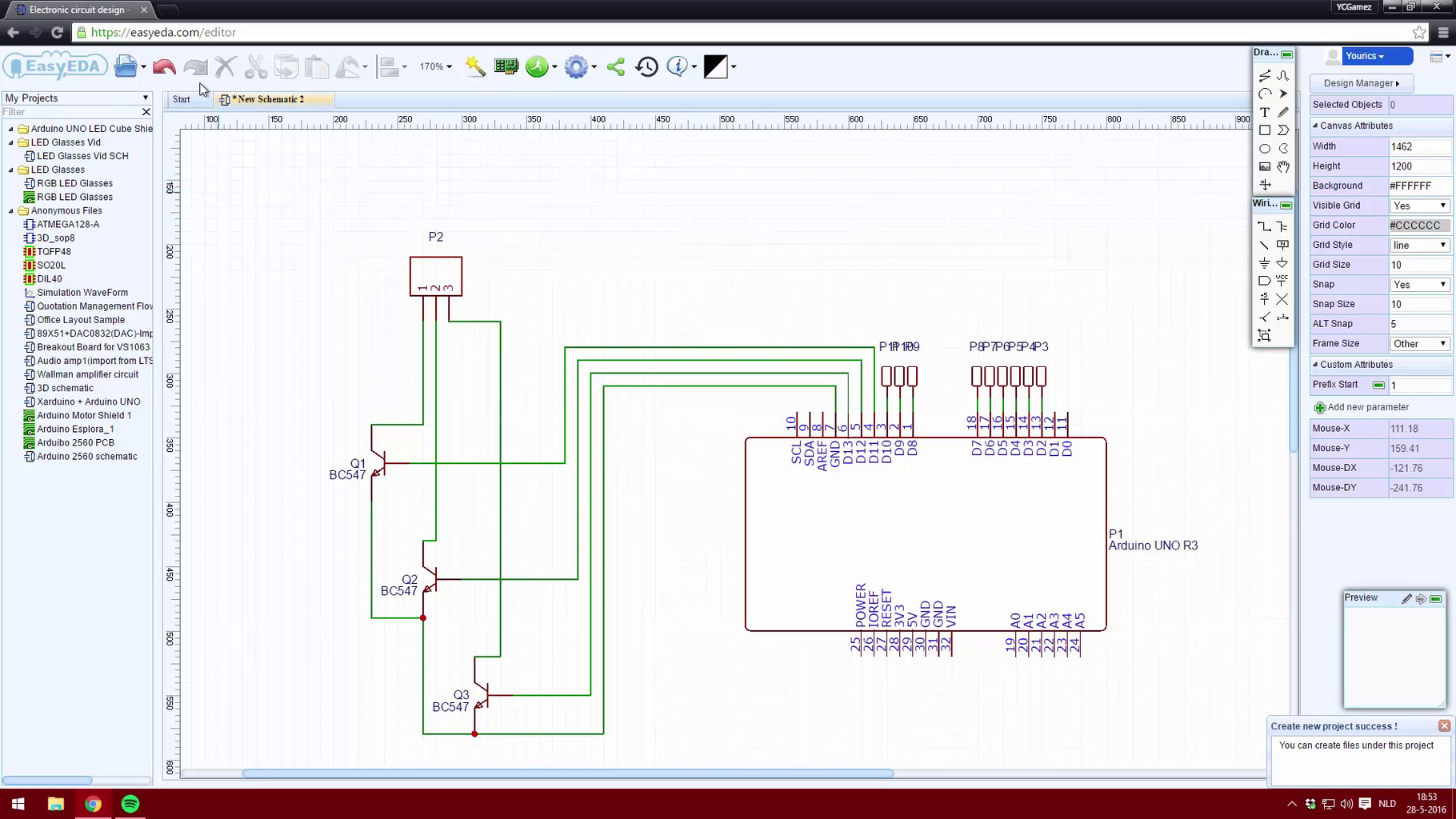 Creating a Schematic