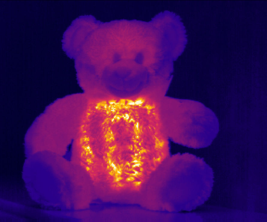 DIY carbon tape heated toy warmer