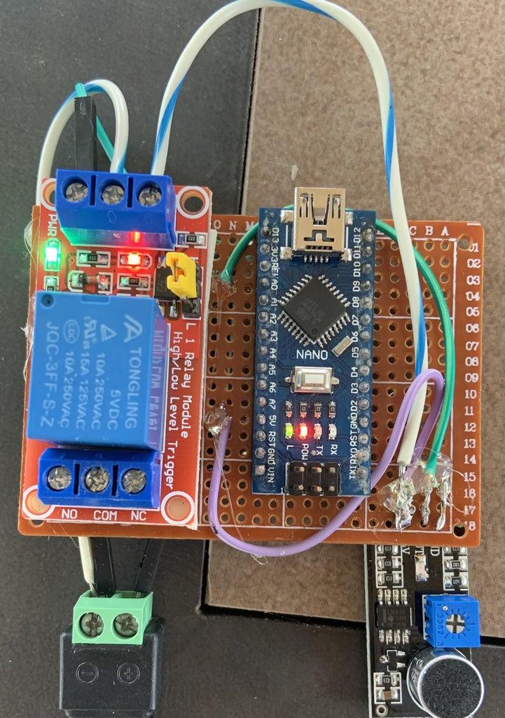 Arduino Sound Sensor Switch