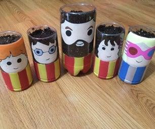Harry Potter Planters