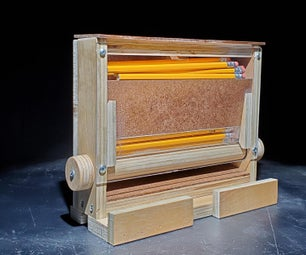 胶合板铅笔分配器 - 哈布里斯的故事转向谦逊