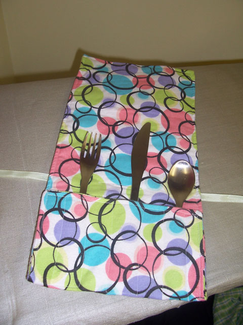 Cutlery tote