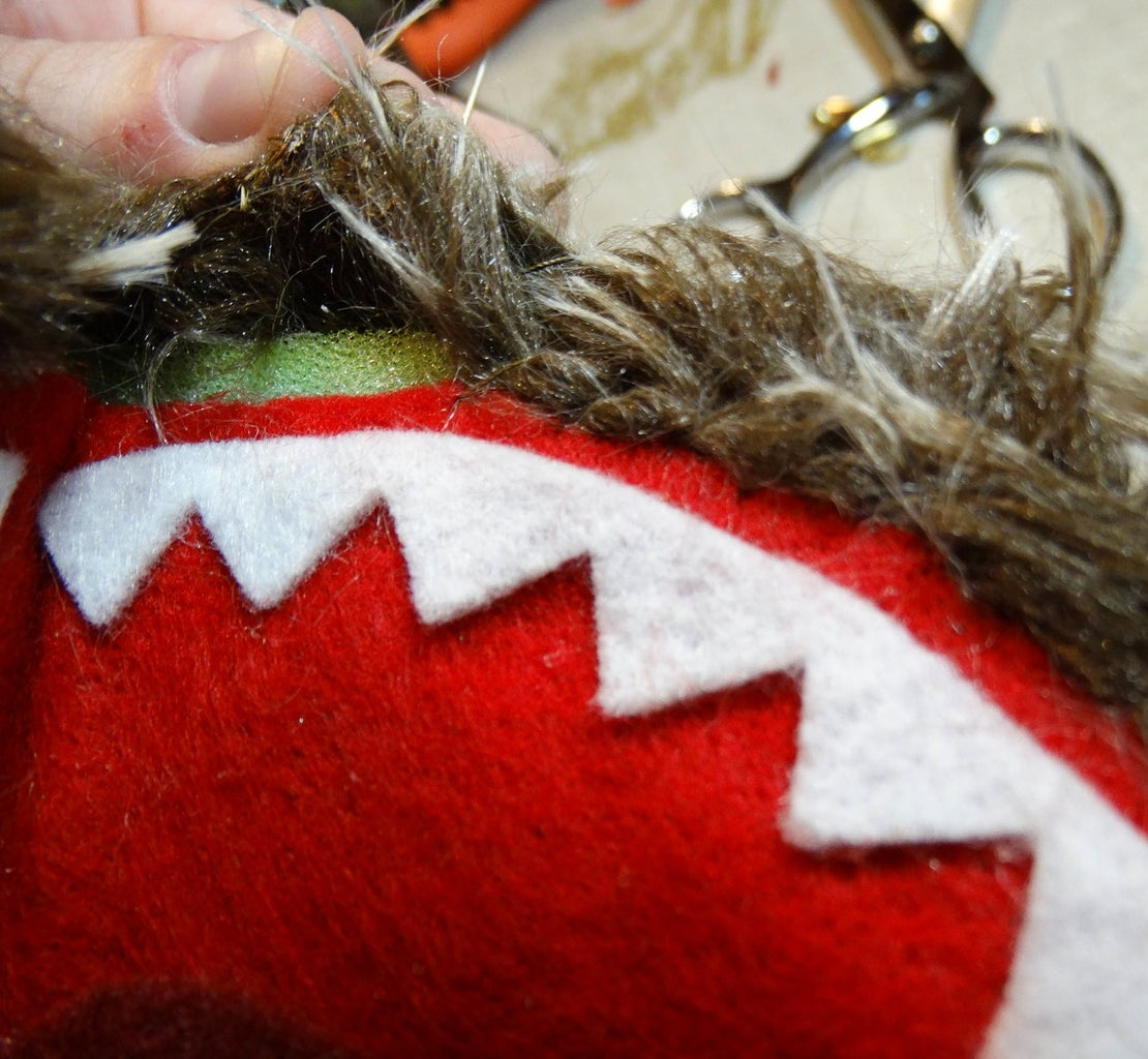 Mouth Sewing