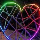 Animated LED Rebar Heart