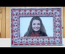 Very Easy DIY Cardboard Photo Frame!