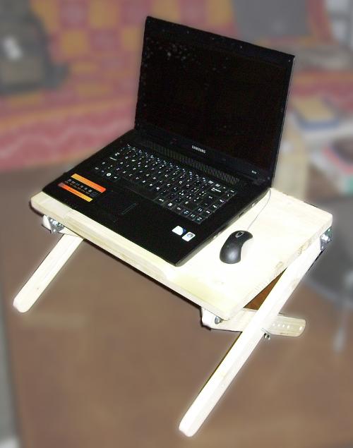 Adjustable X-legged Laptop Stand
