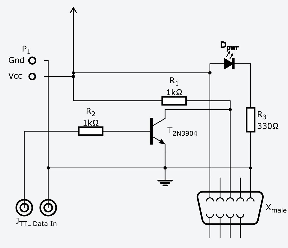 TTL Serial Inverter