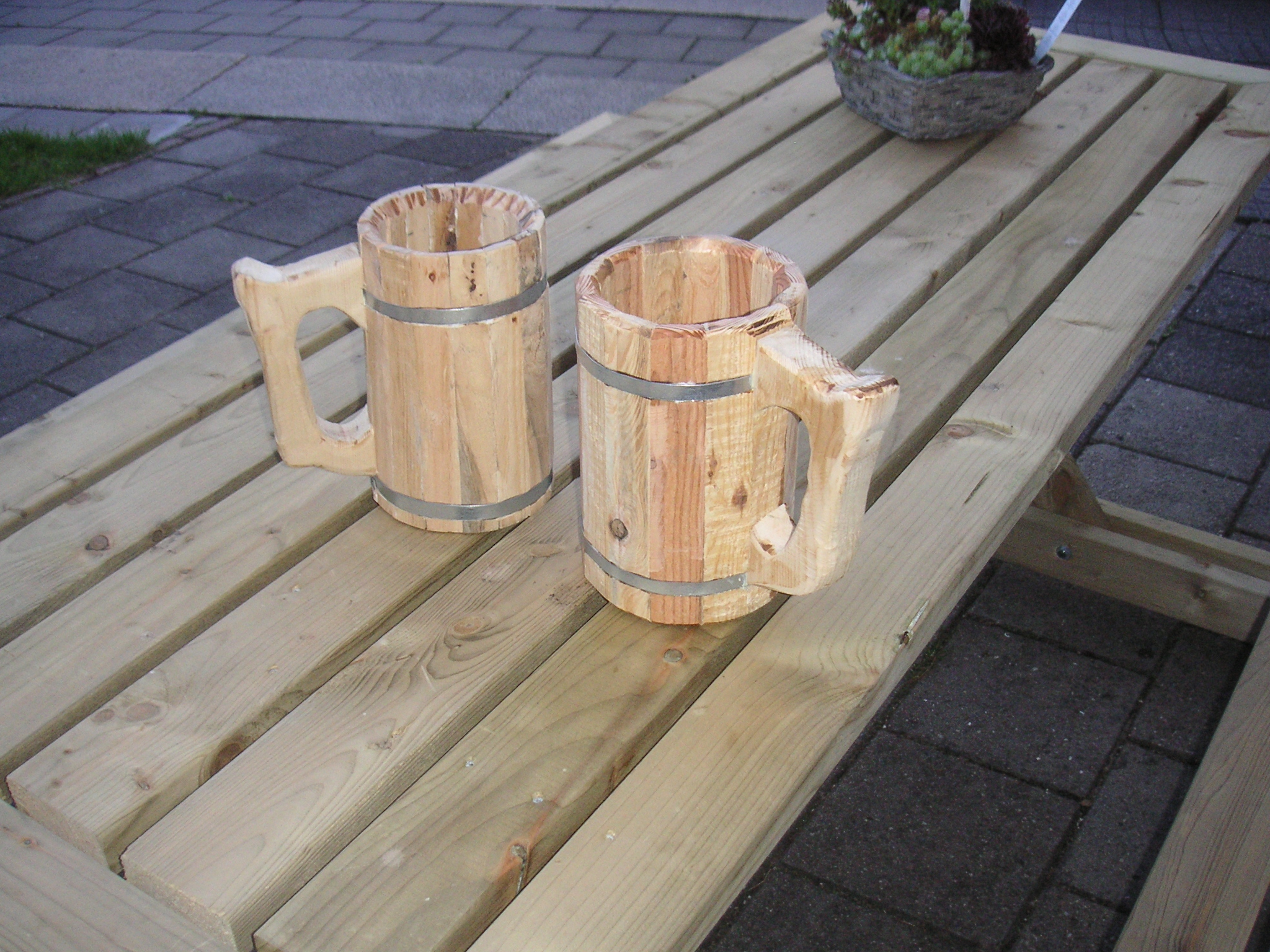 Wooden Beer Mug 7 Steps With Pictures Instructables