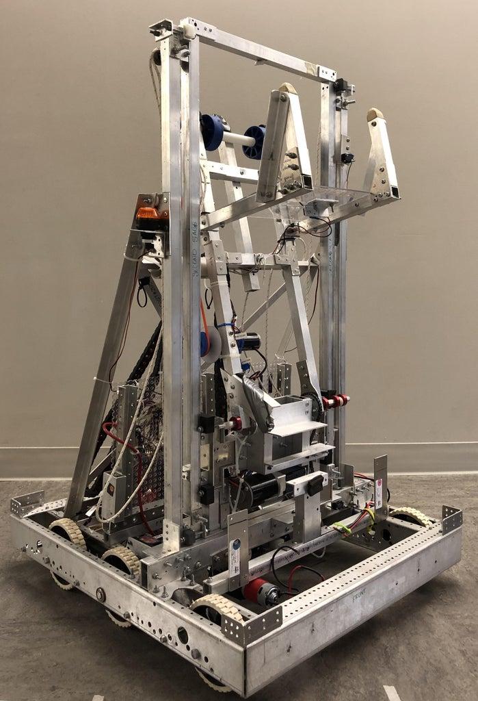 Patriots 3205 - 2019 Final Robot