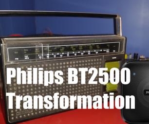 Phillips Bluetooth Speaker Transformation