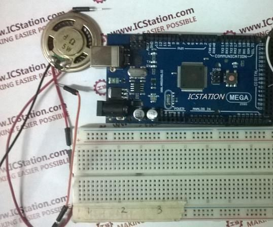 MCU Voice Broadcast System based on ICStation Mega compatible with Arduino