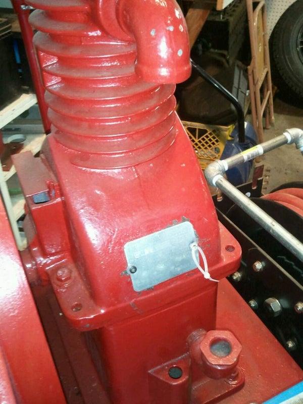 Vintage Curtis Air Compressor