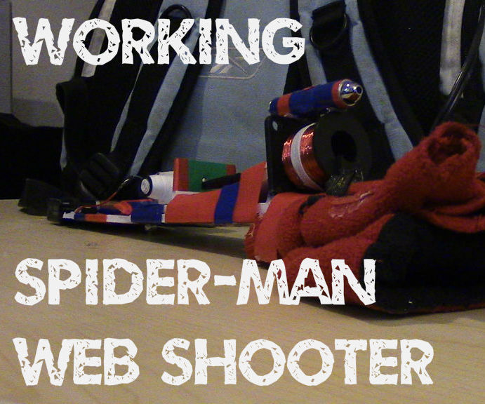 Working Spider-Man Web Shooter