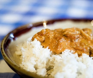 Easy Five Ingredient Chicken Curry