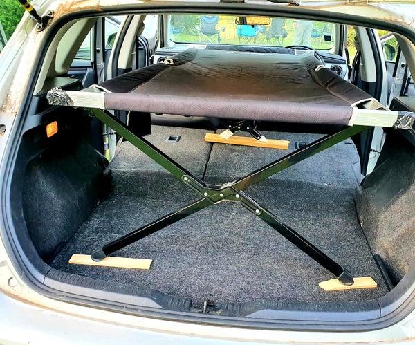 Converting a Toyota Corolla Into a Sleeper