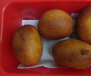 Fried Brazilian Bread: Sonho (Dream)