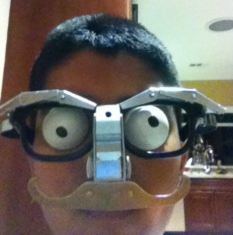 Scrap Parts Disguise Glasses