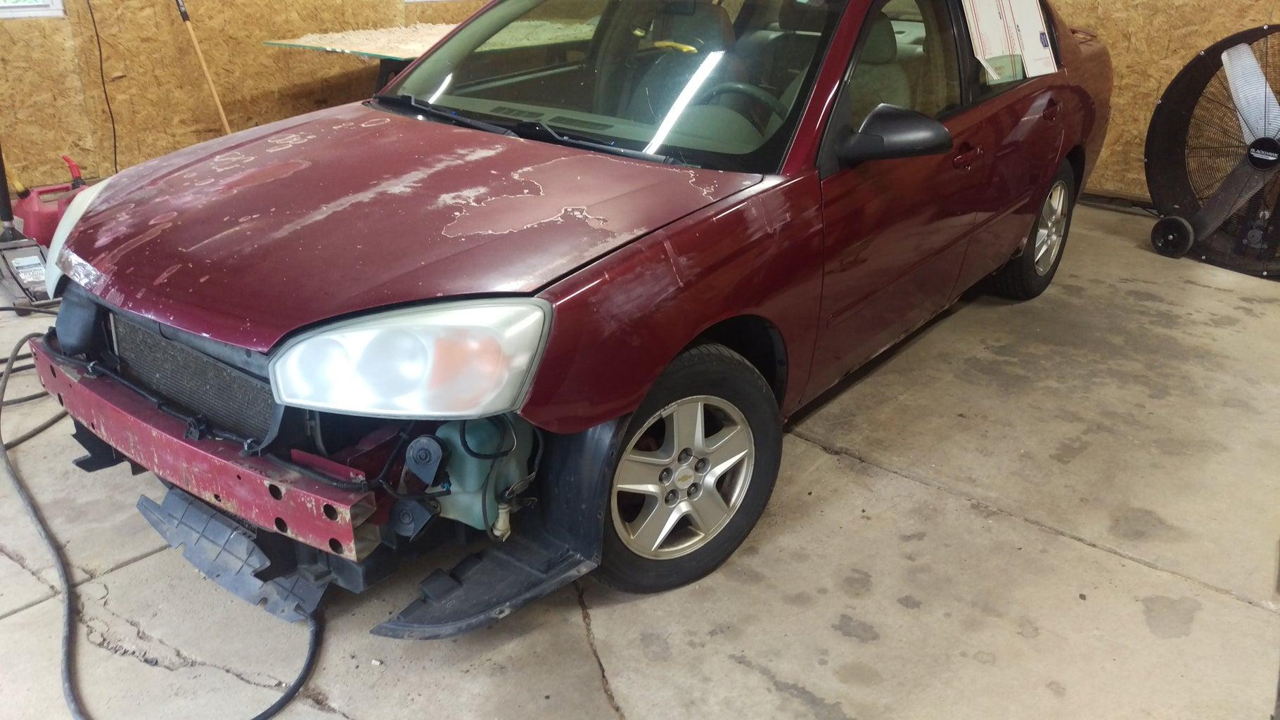 Bumper Needs Fixed.