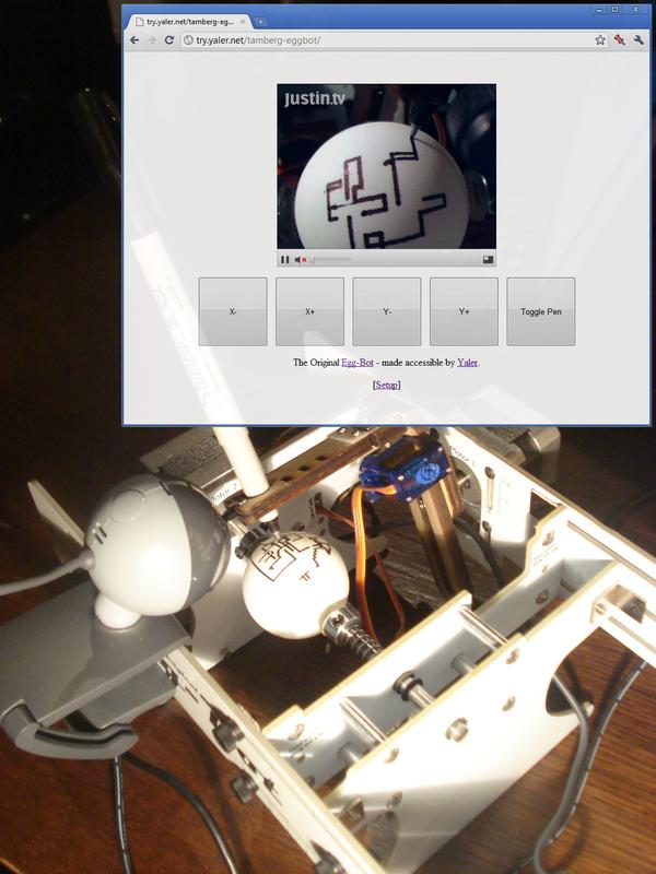 Web Controlled EggBot