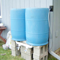 Easy Rain Barrel