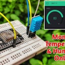 Room Temperature Over Internet With BLYNK ESP8266 & DHT11