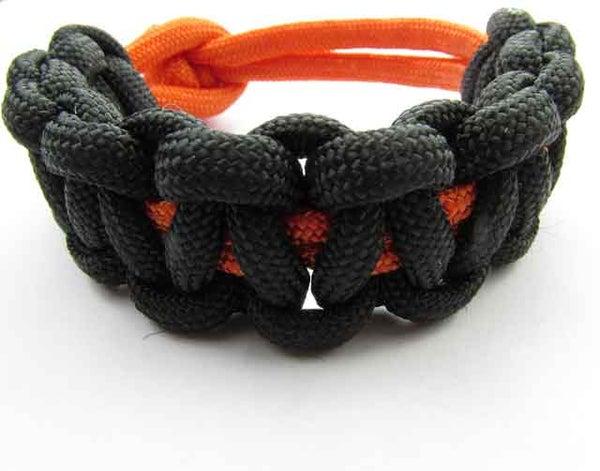 How to Make a Paracord Solomon Bar Bracelet!