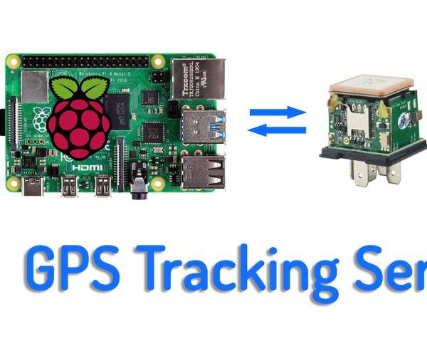 Setup Your Own GPS Tracking Server on a Raspberry Pi