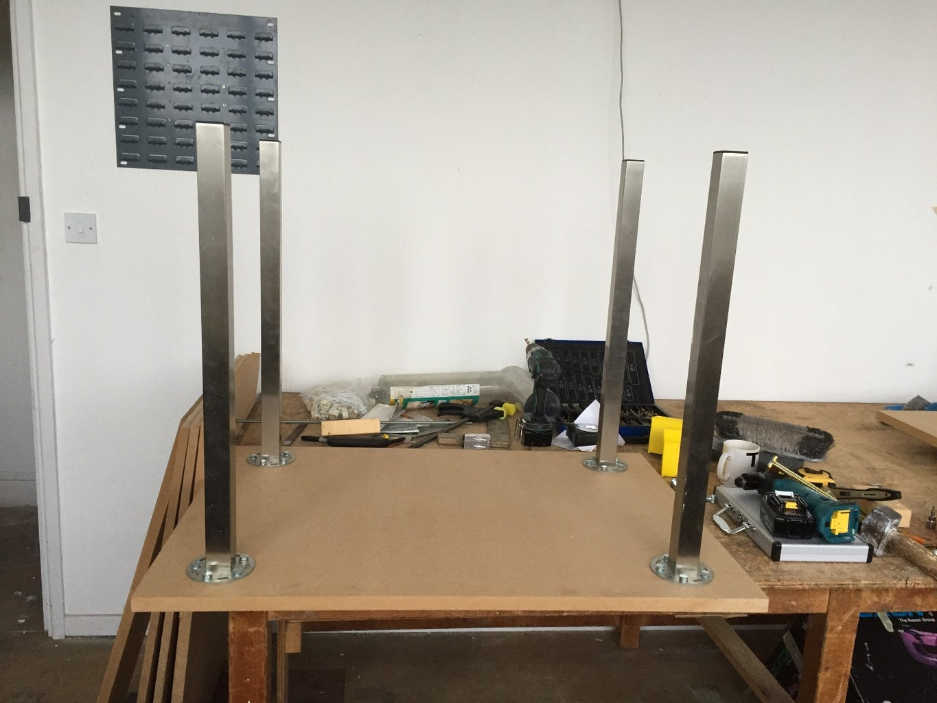 Building the Vacuum Table