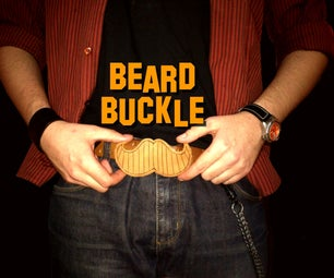 Movember Belt Buckle Tuning