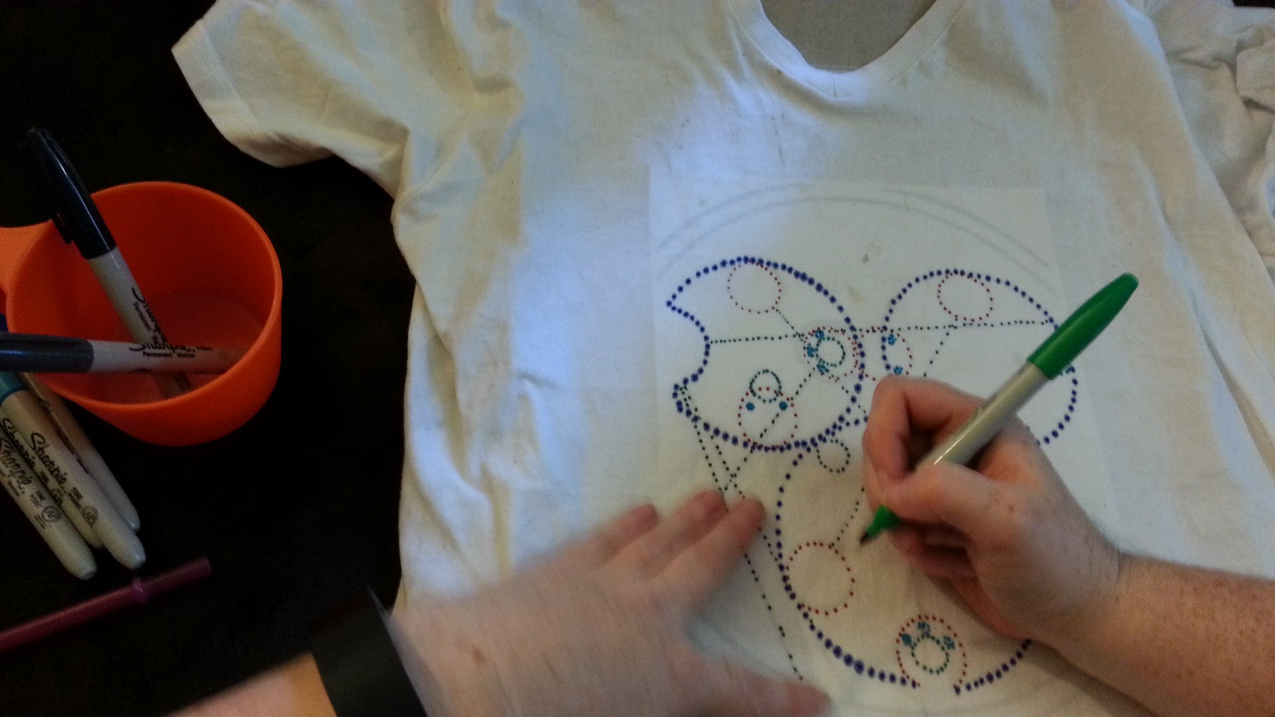 Step 2: Drawing the Design.