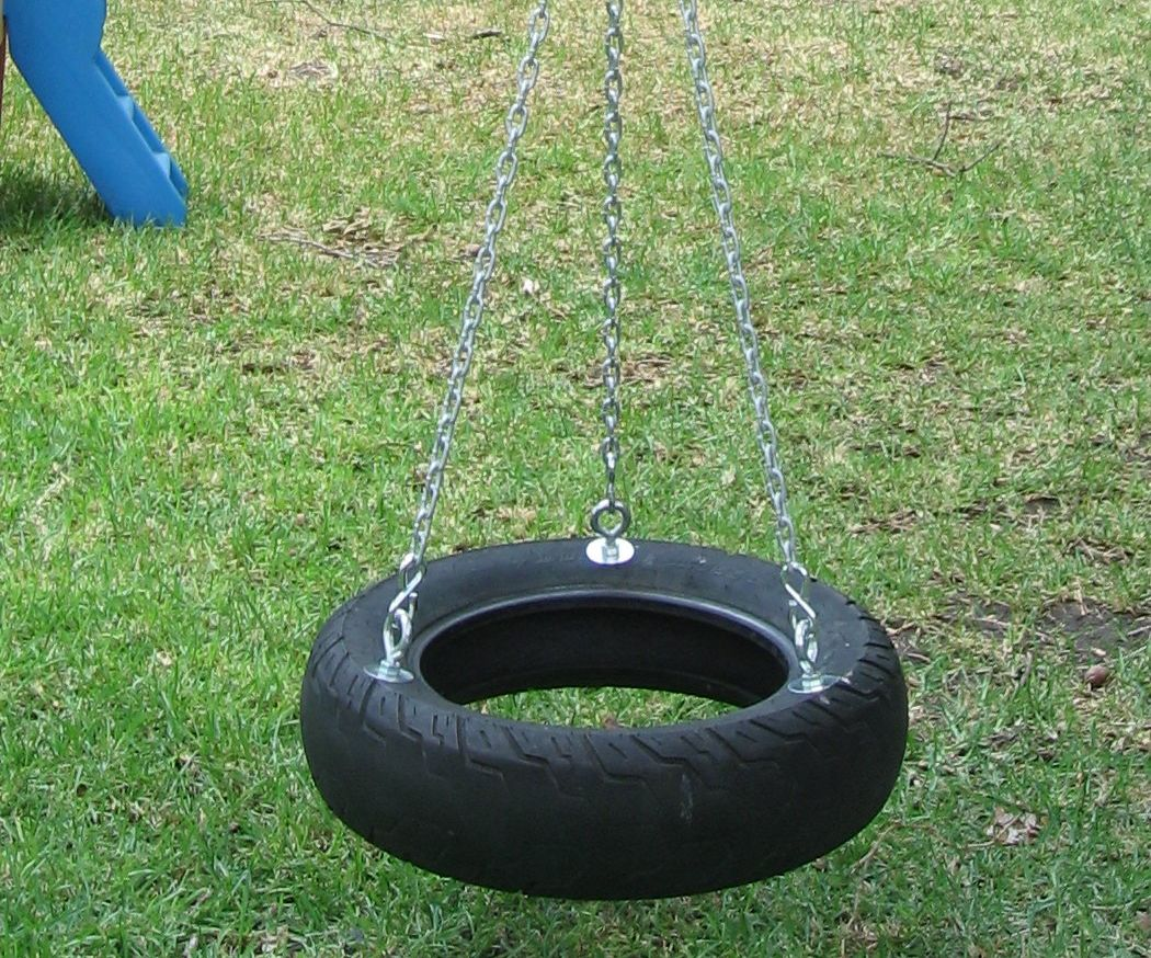 How To Make A Tire Swing 18 Steps With Pictures Instructables