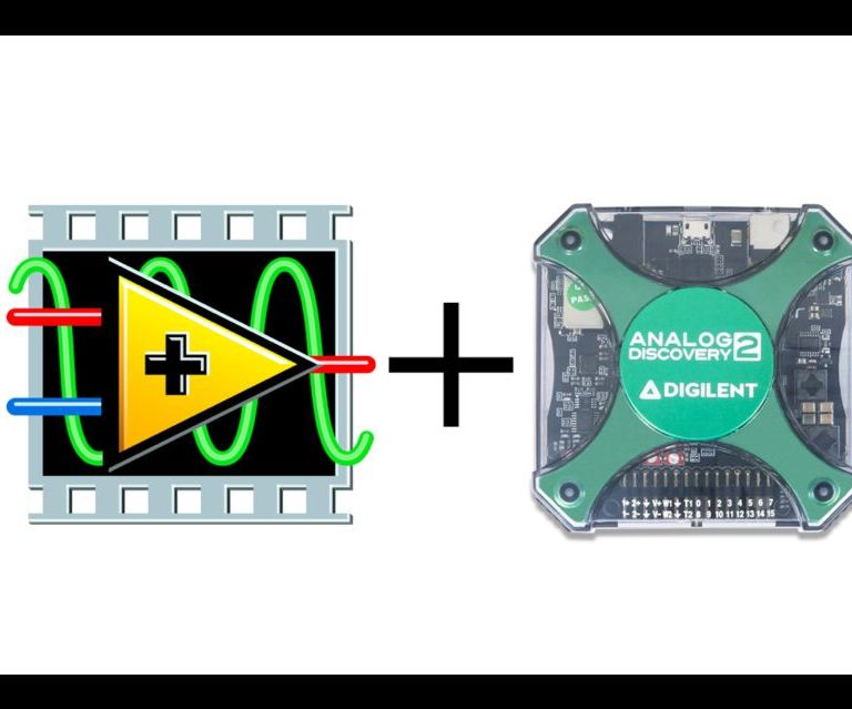 Analog Discovery 2 USB Oscilloscope + LabVIEW(2016 update)