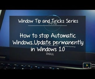 How to Stop Automatic Windows Update Permanently in Windows 10