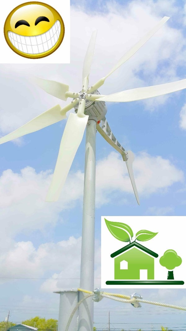 Installing a Wind Turbine to Help Power My Home!