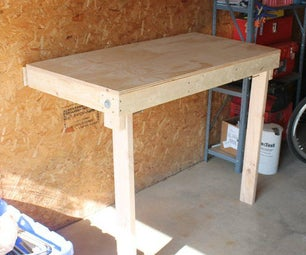 Budget Friendly Folding Workbench ($25)