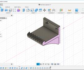 3D Printed Foot Door Opener