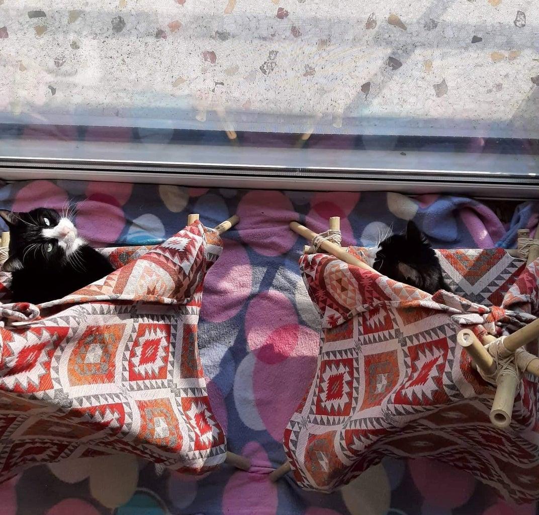 DIY Cat Teepee Tent