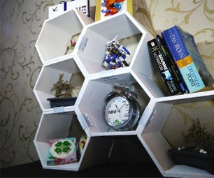 Modular Honeycomb Shelves