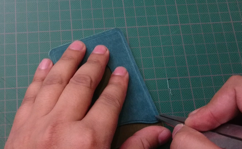 Marking and Preparing for Stitching