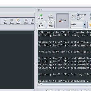 Esp8266 Servidor De Configuración Y De Páginas Dinámicas (Software En Lua)