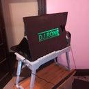 Cardboard DJ Laptop Stand And Color Logo Display